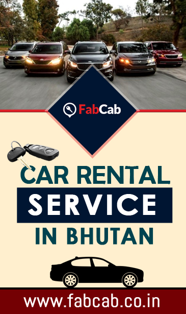 car rental in Bhutan